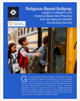 Religious-Based Bullying report cover
