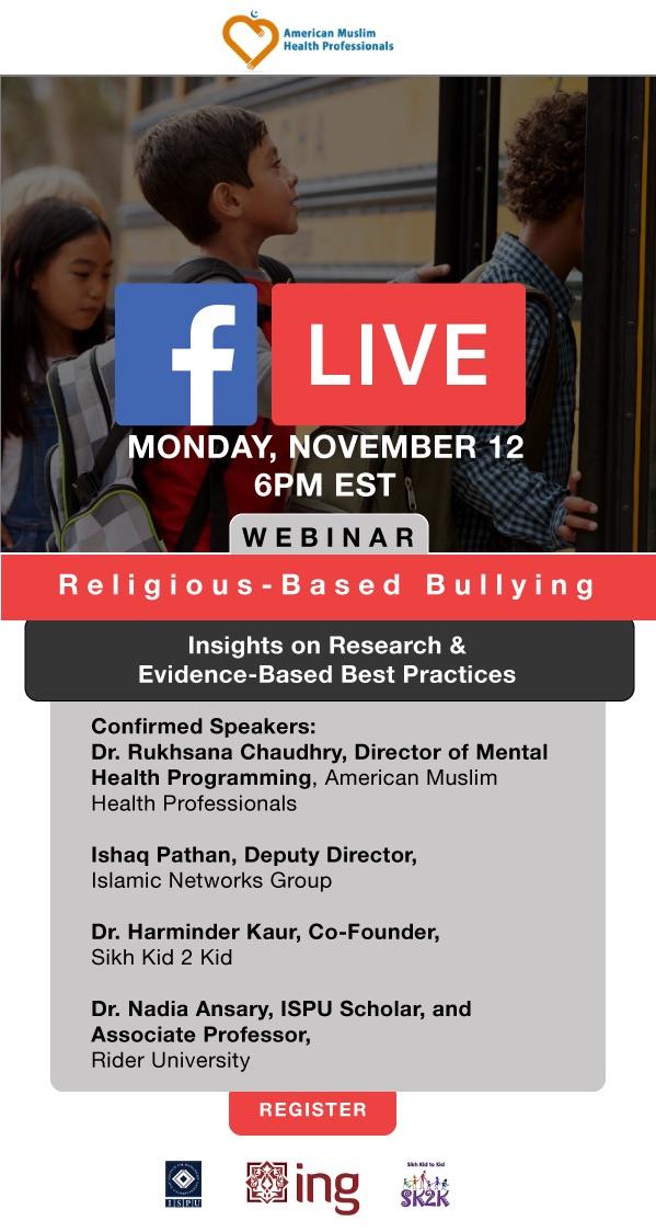 Religious-based bulling facebook live webinar