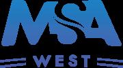 MSA West logo