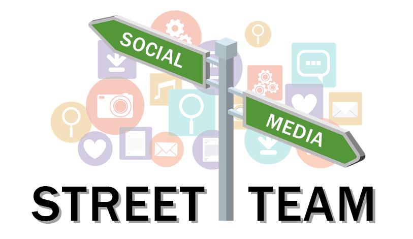 Social Media Street Team