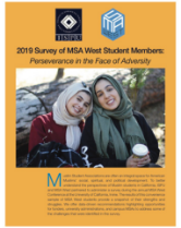 2019 Survey of MSA West Students report cover