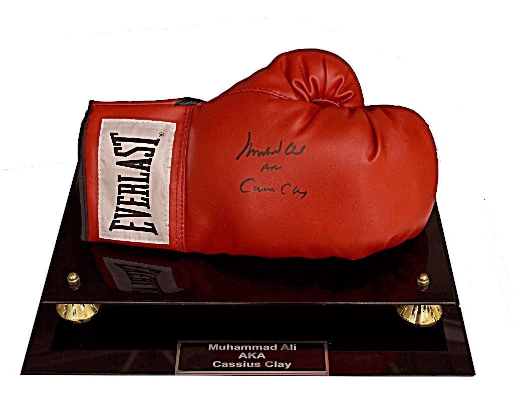 Muhammad Ali aka Cassius Clay Glove