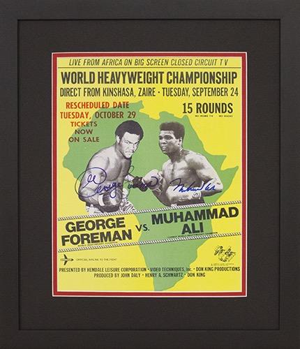 Muhammad Ali vs George Foreman Championship