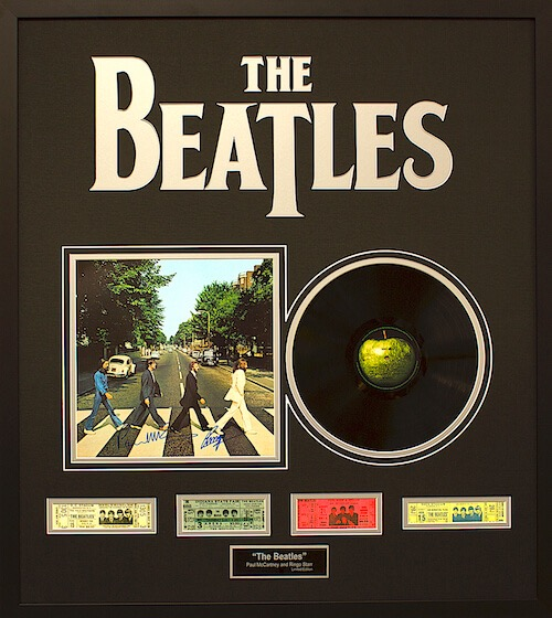 The Beatles Limited Edition Abby Road Record Album (Black)