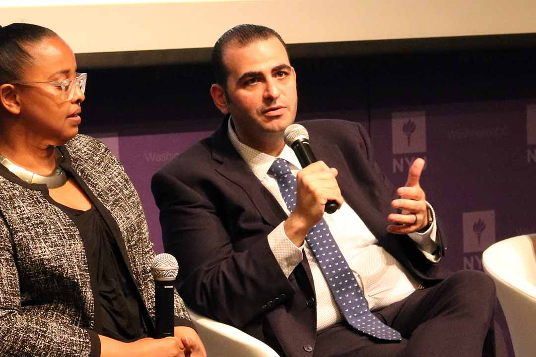 Abed Ayoub speaking on ISPU's Beyond the Ban panel (June 2019)