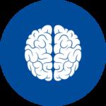 A brain icon