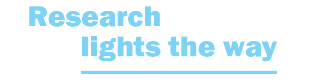 Research lights the way