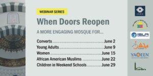 Webinar Series - When Doors Reopen graphic