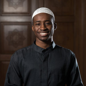 Portrait Of A Black African Man In Mosque