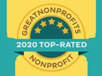 Great Nonprofits 2020 Top-Rated Nonprofit