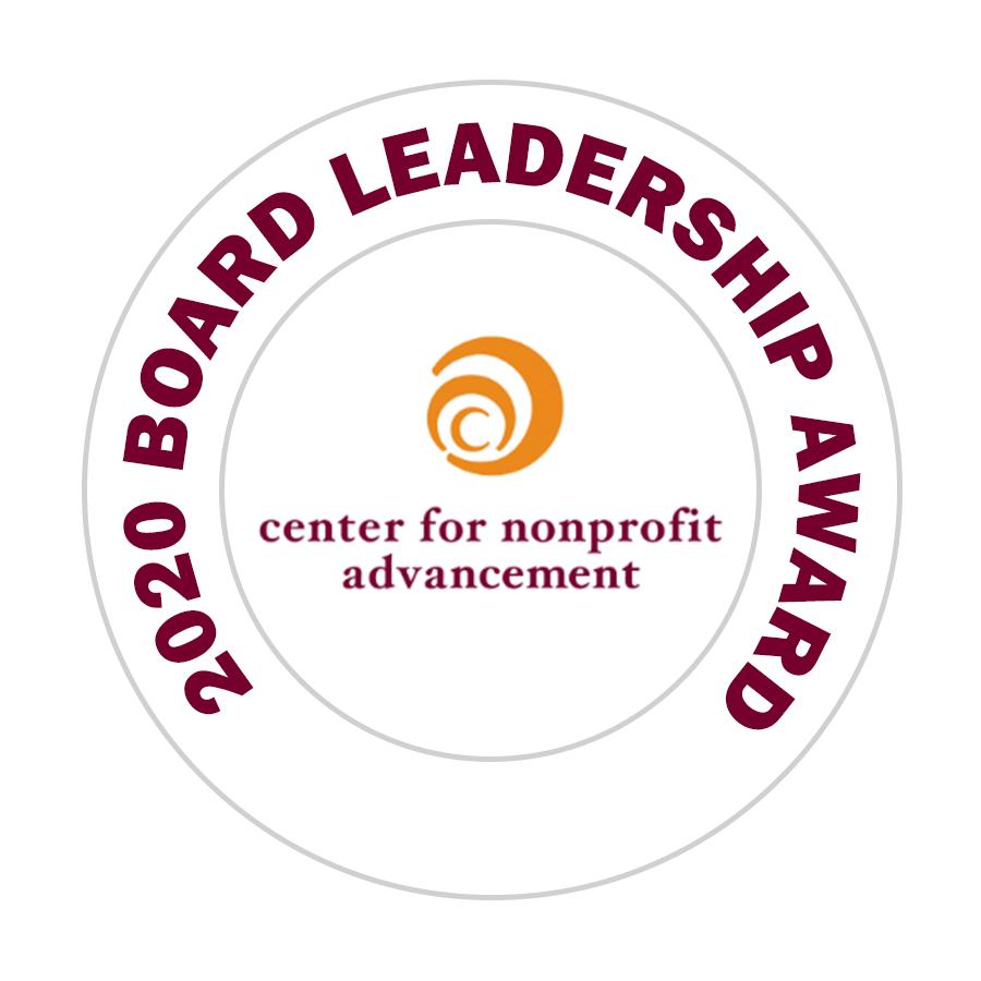 2020 Center for Nonprofit Advancement Board Leadership Award